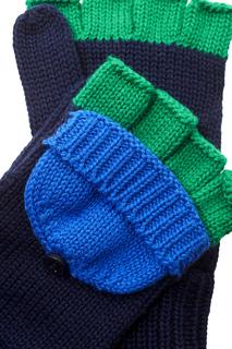 Перчатки из хлопка и кашемира Stella Mc Cartney Children