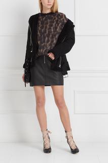Кожаная юбка Franca Acne Studios