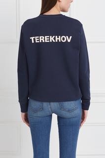Хлопковый свитшот Alexander Terekhov