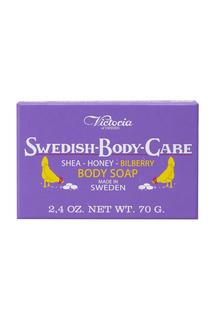 Мыло для тела Shea-Honung-Blabar «Черника» 70gr Victoria Soap