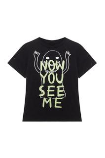 Хлопковая футболка Stella Mc Cartney Children