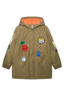 Куртка с нашивками Stella Mc Cartney Children