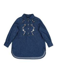 Джинсовая рубашка Ermanno Scervino Junior