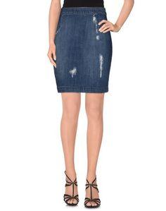 Джинсовая юбка Maison Espin