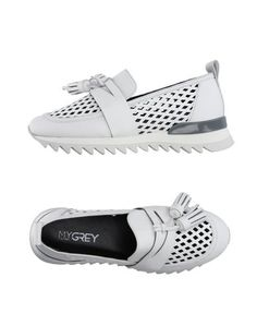 Низкие кеды и кроссовки MY Grey