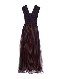 Длинное платье Nanushka