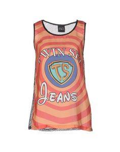Топ без рукавов Twin Set Jeans