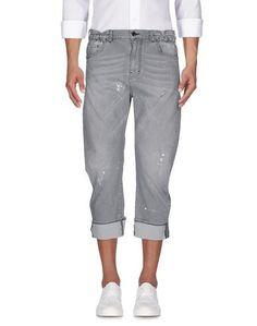 Джинсовые брюки-капри LES Hommes