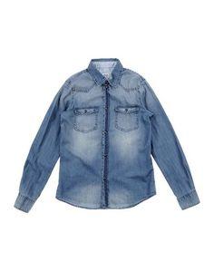 Джинсовая рубашка Armani Junior