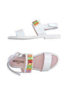 Сандалии Moschino Teen