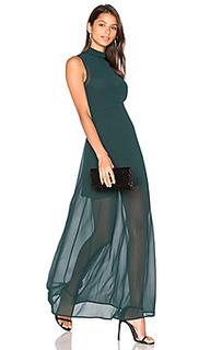 Макси-платье с высокой горловиной rima - Line & Dot