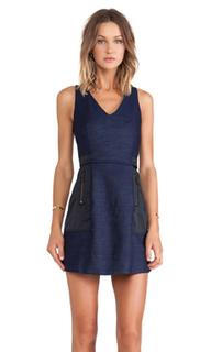 Джинсовое платье деталь из молнии danbur sleeveless dress - G-Star