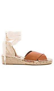 Criss cross demi wedge sandal - Soludos