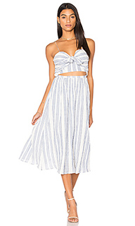 Платье миди jenna - LoveShackFancy