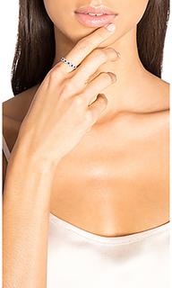 Sapphire & diamond link ring - Sachi
