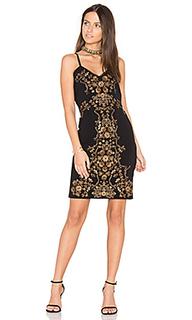 Комбинированное платье nico - Parker