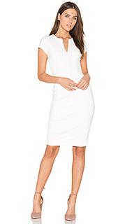 Платье с вырезом v - Eight Sixty