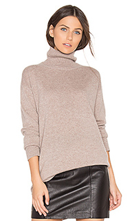 Cashmere oversized turtleneck sweater - MONROW
