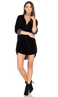 Terry velvet shirt dress - CP SHADES