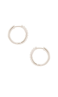 Uptown huggie earrings - Natalie B Jewelry