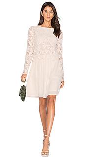 Мини платье из кружева с длинным рукавом - See By Chloe