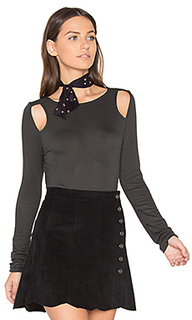 Knit luxe cut out top - twenty