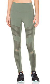 High waist moto legging - alo