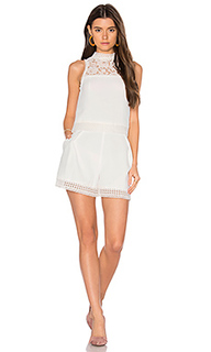 Crepe double layer romper - NICHOLAS