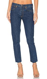 Укороченные джинсы высокой посадки rigid - RE/DONE