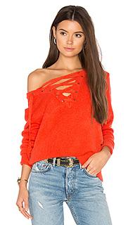 Criss cross sweater - Bardot