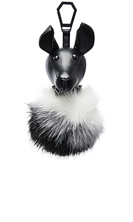 Bambi faux fur charm - KENDALL + KYLIE