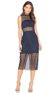Кружевное миди-платье all night - keepsake