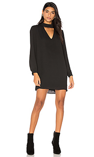 Cutout turtleneck mini dress - krisa