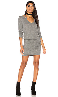 Split v neck dress - Pam & Gela