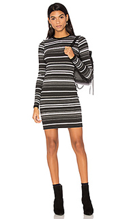 Cascade stripe bodycon dress - twenty