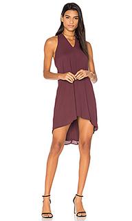 Loop front mini dress - krisa