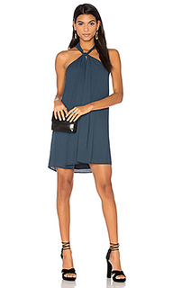 Loop front mini dress - krisa