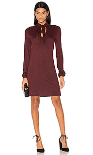 Rib tie neck dress - twenty