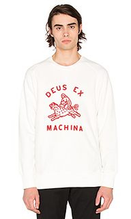Свитшот с круглым вырезом crouching tiger - Deus Ex Machina