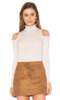 Open shoulder ribbed pullover - Rebecca Taylor