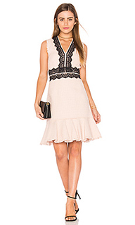 Sleeveless tweed lace dress - Rebecca Taylor