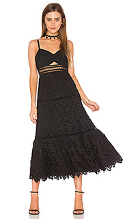 Кружевное платье без бретелек - Rebecca Taylor