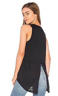 Cameo tuxedo back tank - Nation LTD