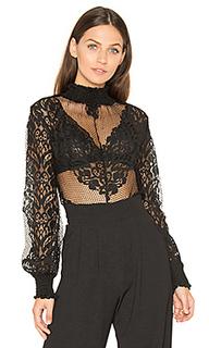 Блузка со шнуровкой eloise - Line & Dot