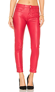 Vegan leather high rise zip skinny - Weslin + Grant