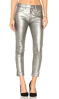 Узкие брюки высокой посадки - Weslin + Grant