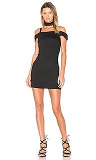 Платье со спущенными плечами alex - Greylin