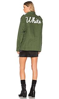Куртка vintage white m65 - OFF-WHITE