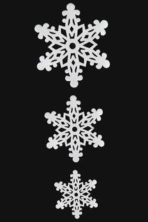 Подвеска Снежинки 95 см НОВОГОДНЯЯ СКАЗКА