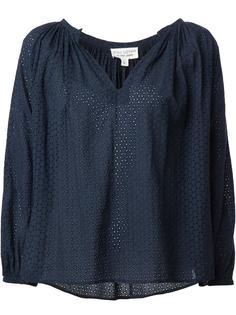 блузка с V-образным вырезом Nili Lotan